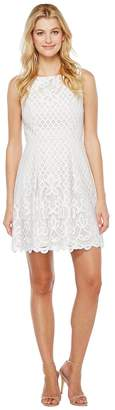 Adrianna Papell Giselle Lace Fitand Flare Dress Women's Dress