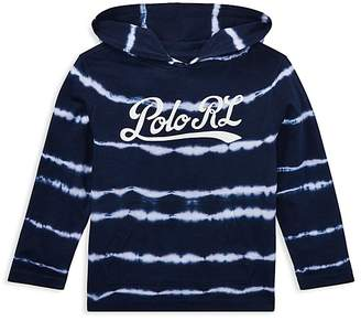 Polo Ralph Lauren Boys' Hooded Tie-Dyed Jersey Tee - Little Kid