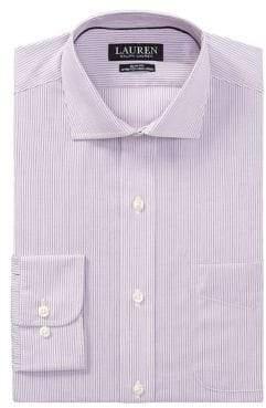 Lauren Ralph Lauren Slim-Fit Pinstripe Dress Shirt