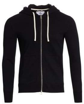 Reigning Champ Hooded Zip-Front Jacket