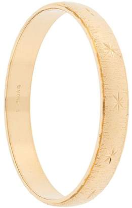 Monet Pre-Owned Monet textured bangle
