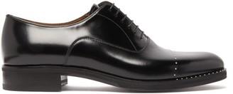 Christian Louboutin Larrieu Leather Oxford Shoes - Mens - Black