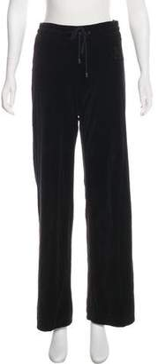 Burberry Velvet Wide-Leg Sweatpants w/ Tags