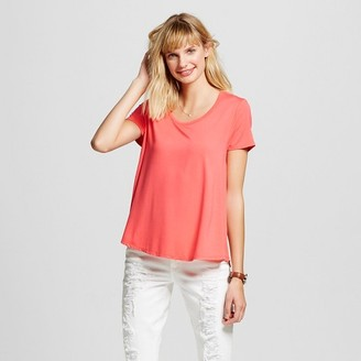 Merona Women's Softest Scoop Tee $8 thestylecure.com