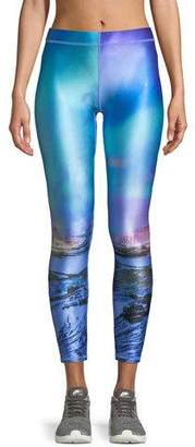 Terez Printed Ankle Performance Leggings