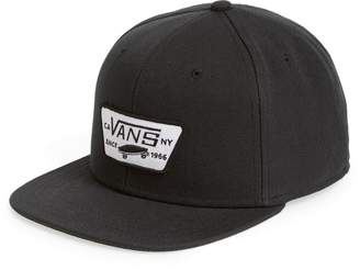 Vans 'Full Patch' Snapback Hat
