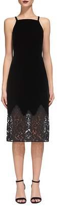 Whistles Dakota Velvet Dress $470 thestylecure.com