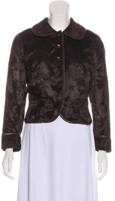Plein Sud Jeans Collared Button-Up Jacket