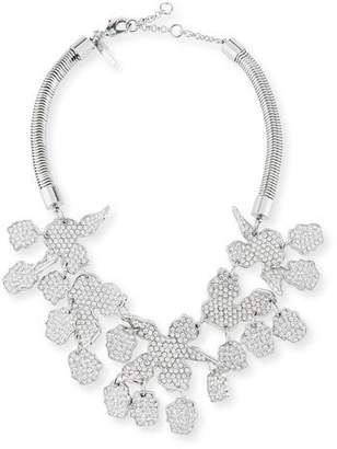 Lele Sadoughi Crystal Lily Statement Necklace