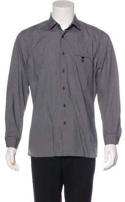 Prada Check Woven Shirt