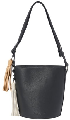 Urban Originals Two Lovers Vegan Leather Bucket Bag