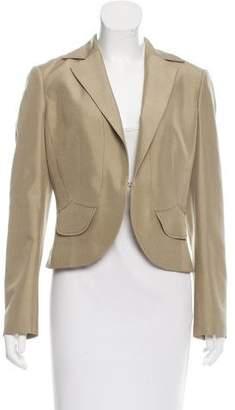 Valentino Structured Silk Blazer