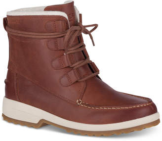 Sperry Maritime Lace-Up Combat Boots Women's Shoes