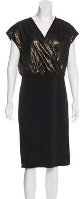 Narciso Rodriguez Sequined Knee-Length Dress