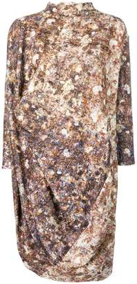 DAY Birger et Mikkelsen Anntian abstract print asymmetric dress