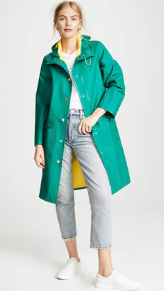 Mira Mikati Hooded Raincoat