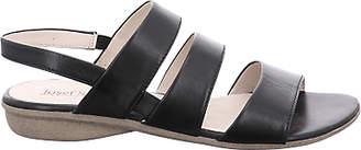 Josef Seibel Fabia 11 Sandals, Black Leather