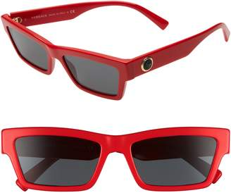 12bb30d1fdf at Nordstrom · Versace 55mm The Clans Cat Eye Sunglasses