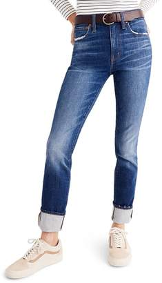 Madewell The High Rise Slim Boyjeans