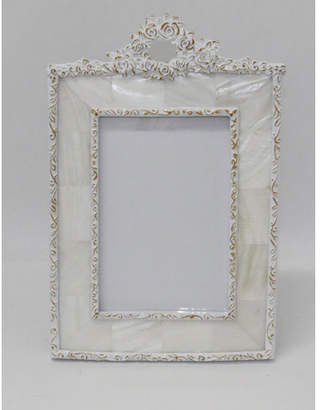 Mother of Pearl 6x4 Rosette Photo Frame