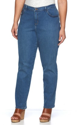 Lee Plus Size Relaxed Fit Straight-Leg Jeans