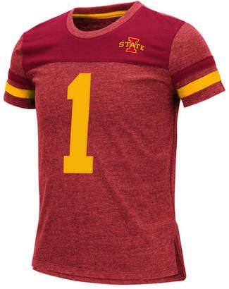 Colosseum Big Girls Iowa State Cyclones Mink T-Shirt