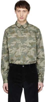 A.P.C. Khaki Camo 92 Shirt