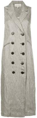 Mara Hoffman Tamar double breasted midi dress