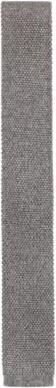 BOSS Hugo Italian-made straight-cut tie in knitted silk One Size Grey