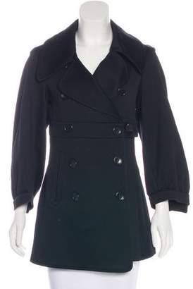 Armani Collezioni Textured Short Coat