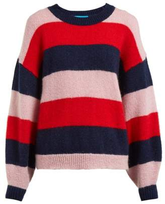 MiH Jeans Jackson Striped Mohair Blend Sweater - Womens - Multi