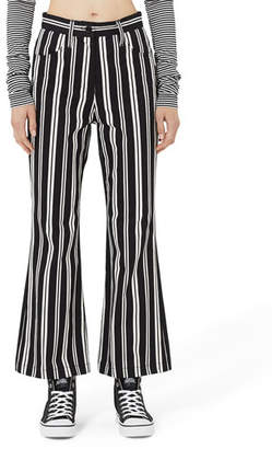 Marc Jacobs High-Rise Striped Flare Pants