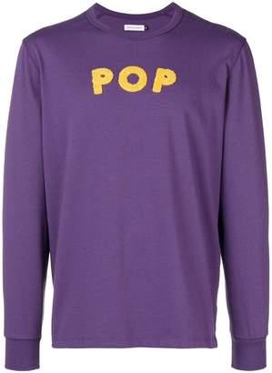 Pop Trading International logo patch sweatshirt