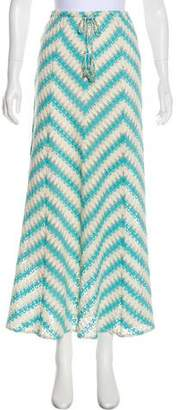 Calypso Crochet Maxi Skirt