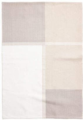 H&M Color-block Cotton Rug - Brown