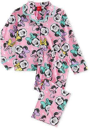 Minnie Mouse Little Girls 2-Pc. Pajamas Set