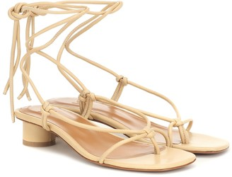 LOQ Dora leather sandals