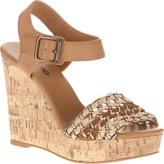 Mo Mo MoMo Women's Angel Cork Woven Sandal