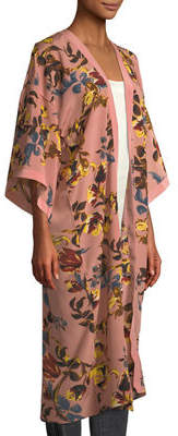 Vince Camuto Renaissance Floral Duster Kimono