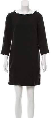 Raquel Allegra Long Sleeve Mini Dress
