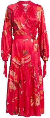 Munthe Hooligan Palm Wrap Dress