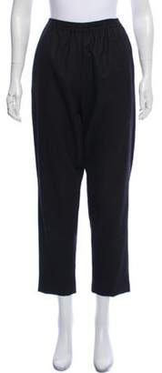 eskandar High-Rise Wool Pants Grey High-Rise Wool Pants