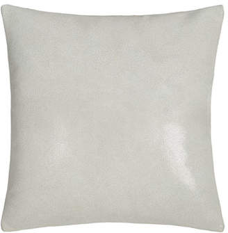 "Donna Karan Home Clear Lacquer Print Leather Pillow, 16""Sq."