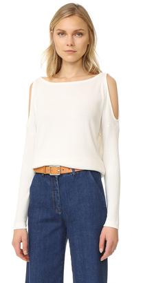 Splendid Cold Shoulder Sweater $118 thestylecure.com