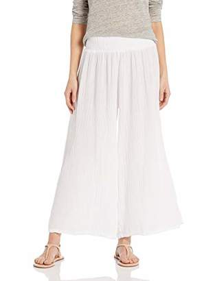 Michael Stars Women's Double Gauze Wide Leg Pant
