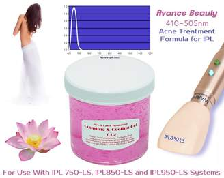 Avance Acne Formula 400-505nm Filter Cooling and Coupling Gel for Laser and IPL Permanent Hair Removal Machines, Systems, Devices