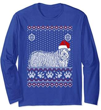 Bearded Collie Christmas Long Sleeve T-Shirt Noel Gift