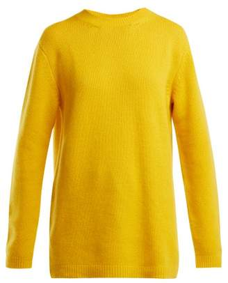 Raey Loose Fit Cashmere Sweater - Womens - Yellow