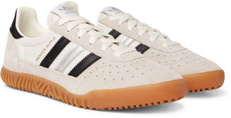 adidas Indoor Super Suede and Nylon Sneakers