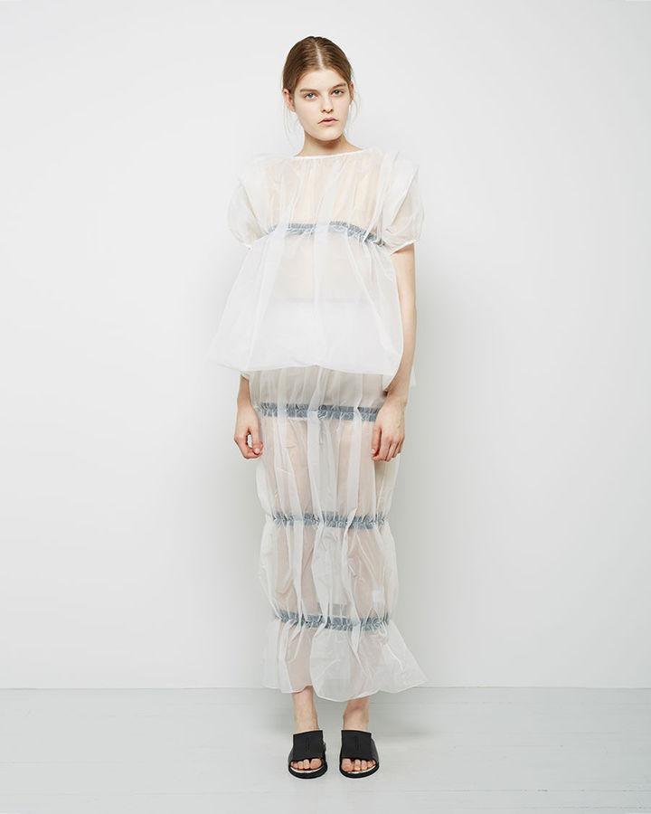 J.W.Anderson Pillar Skirt